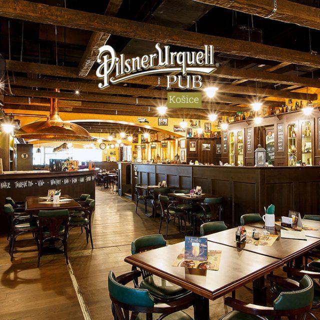 Pilsner Urquell Pub – Košice