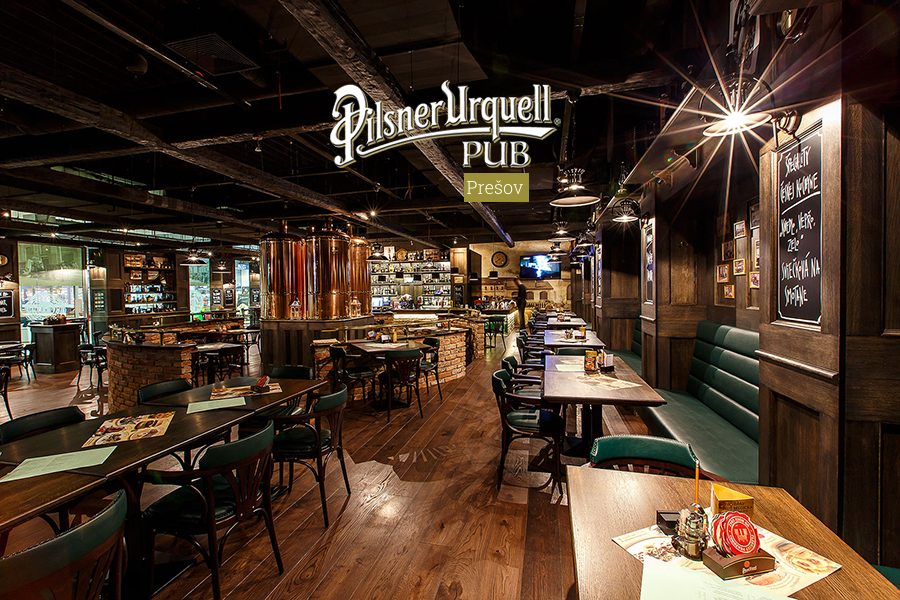 Pilsner Urquell Pub – Prešov