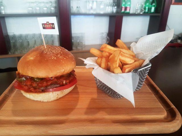 Zámocký pivovar - Mexický burger - Burgre.sk